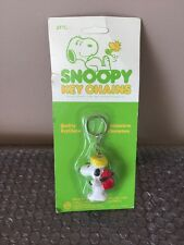 New Vtg 1965 SNOOPY  KEY CHAIN Charlie Brown DOG FIGURE 277C