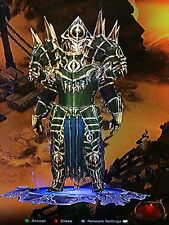 DIABLO 3 NEW MODDED CONQUERORS SET patch 2.5 GREAT TRANSMOG SOFTCORE OR HARDORE