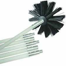 Rameng Kit de Nettoyage Cheminee Flexible Kit Ramonage de Poêle à Pellets 6Pcs a