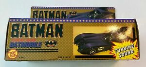 Toybiz Batman BATMOBILE Turbine Sound 1989 #4432 MIB