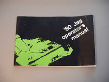 1980 Vintage Arctic Cat Jag Snowmobile Owner's / Operator's Manual