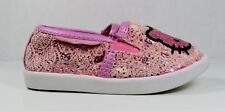 Hello Kitty by Sanrio Girls Pink Slip on Shoes in Size 5M (Toddler)