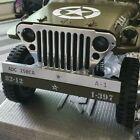 RC Car Rochobby 1/6 Jeep Willys Aluminum metal Bumper & Grill Set