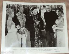David Niven, Ava Gardner & Charlton Heston, etc - 55 Days At Peking Movie Promo