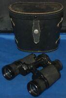Ansco Deluxe Binoculars With Case Vintage 7 x 35 Model 9010