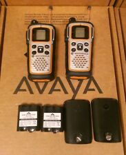 Lot Of 2 Motorola MU35OR Talkabout Bluetooth Two Way Radio PARTS ONLY