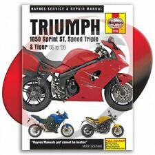 2007-2009 Triumph 1050 Tiger Haynes Repair Manual 4796 Shop Service Garage