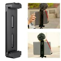 """Ulanzi Tablet Tripod Mount Holder Clamp Cold Shoe 1/4"""" Screw For iPad Cellphone"""