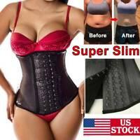 Fajas Colombianas REDUCTORAS Shaper Waist Trainer Tummy Control Shapewear LATEX
