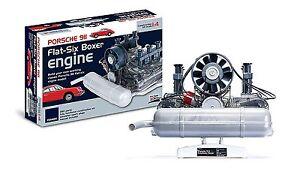 Porsche 911 Build Your Own Working Engine Flat-Six Boxer Motorized Engine Model