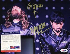 Justice Woman Cross Audio Video Disco Electro Duo Signed 8x10 Photo PSA COA E3