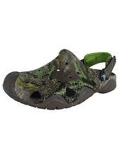 Crocs Mens Swiftwater Realtree Max-1 Clogs, Pewter/Volt Green, US 7
