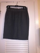 Womens Size 0 gray Dress Skirt. The Perfect Travel Suit.