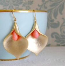 Brass Coral Handcrafted Jewellery