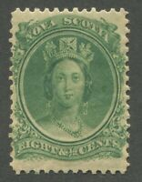 NOVA SCOTIA #11 MINT VF NH JUMBO