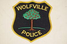 Canadian Nova Scotia Wolfville Police Patch