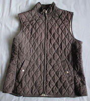 Land's End Women's Ladies Navy Blue Gilet Size M Medium Good Used Condition