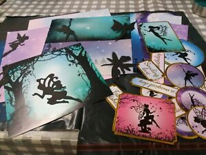 Fairy Card Kit...Papers/Fairy Silhouettes/Sentiments