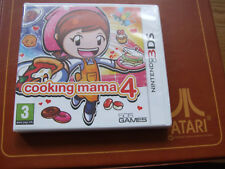 NINTENDO GAMEBOY 3DS COMBINE / OFFERS  - COOKING MAMA 4 NEW SEALED