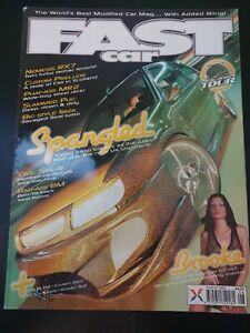 Fast Car Magazine August 2003 (395)(Rare) Modified Cars Babes Saxo Prelude Stree