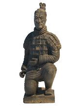 ENTOMBED TERRACOTTA WARRIORS OF XIAN - 25 cm Scale Kneeling Archer
