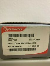 Phenomenex Onyx Monolithic C18 100x4.6 mm. Part No:CH0-7643