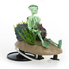 Drunk Skeleton Fish Tank Ornament Aquarium Air-operated Landscape Decoration New
