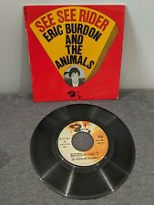 Disque 45 tours Eric Burdon And The Animals - See See Rider - 071 081