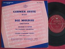 "CARMEN SUITE / BIZET - DIE MOLDAU / SMETANA - REMINGTON RLP-149-10  RARE 10"" LP"