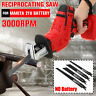 21V Cordless Reciprocating Saw Sabre Charger Electric Cutting for Makita Battery