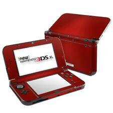 Nintendo New 3DS XL Skin - Red Burst - Decal Sticker