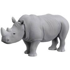 Takara Tomy ANIA AS-07 ANIMAL White Rhino Mini Action Figure ZOO Children Toy