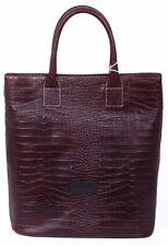 PIERRE BALMAIN - Borsa Donna Shopper in Pelle Marrone