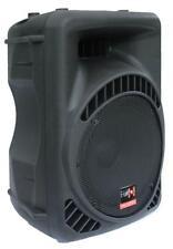 """600W DJ PA AKTIV LAUTSPRECHER Box 12""""/30cm Aktivbox E-Lektron 12600MA außen NEU"""