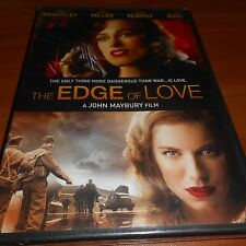 The Edge of Love (DVD, Widescreen 2009) Keira Knightley, Sienna Miller NEW