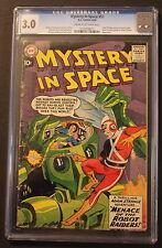 MYSTERY IN SPACE #53 1st ADAM STRANGE Begins 1959 Infantino Gil Kane CGC GVG 3.0
