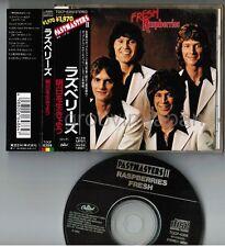 RASPBERRIES Fresh JAPAN CD TOCP-6359 w/PASTMASTERS II w/OBI Eric Carmen Free S&H