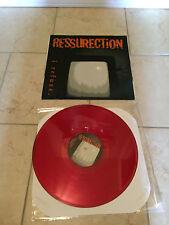 Ressurection – I Refuse RED Vinyl SXE Trial LP 1994 Mouthpiece Floorpunch