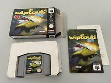 Wipeout 64 - EUU -  PAL - NINTENDO 64 / N64