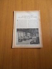 1921 Le piano moderne sa mécanique industrie Pleyel fabrication atelier montage