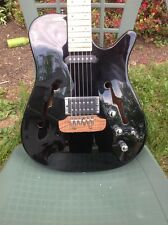 PBC Dave Bunker Guitar Rare Mid 90's Black Hollowbody Archtop