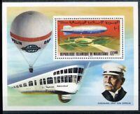 451154) Mauretanien Block 15 A **, Zeppelin