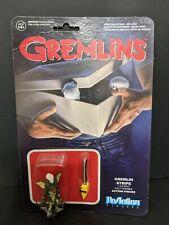 Gremlins Stripe W/ Chainsaw ReAction Figure RARE Super 7