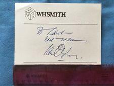 ORIGINAL - IAN OGILVY AUTOGRAPH - FROM 1983 - SIGNED TO ME