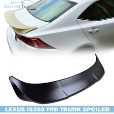 Unpainted For Lexus IS250 IS350 IS300 IS F TRD Type Rear Boot Trunk Spoiler