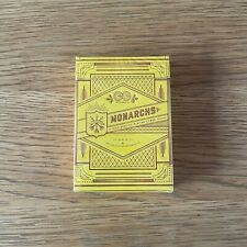 More details for theory11 monarch mandarin limited edition playing cards new and sealed