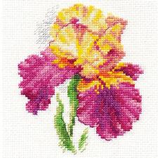 Alisa Cross Stitch Kit-Iris