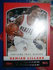 2012-13 Panini Basketball #262 Damian Lillard Rookie Card