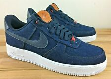 NIKE BY YOU LEVI'S AIR FORCE 1 DARK DENIM BLUE RED 10 cpfm blazer air max 90 og