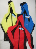 Jaggad Hoodie Unisex Cycling Bike L/Sleeve Jersey RED BLUE BLACK LIME #253 S M L